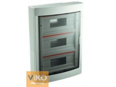 Щиток VIKO на 36 модуля накладной белый