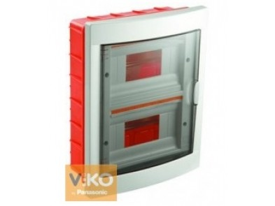 Щиток VIKO на 24 модуля встраиваемый белый